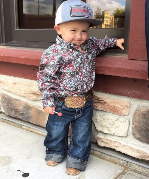 Wrangler kids clothing